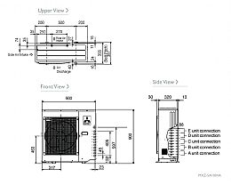 Mitsubishi Electric Air Conditioning MXZ-5D102VA 4 x 2.2